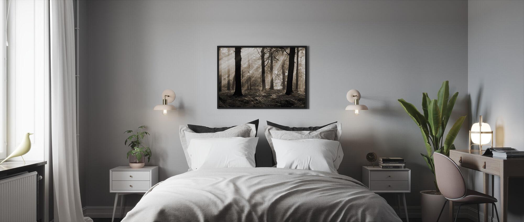 Augustus Ochtend - Ingelijste print - Slaapkamer