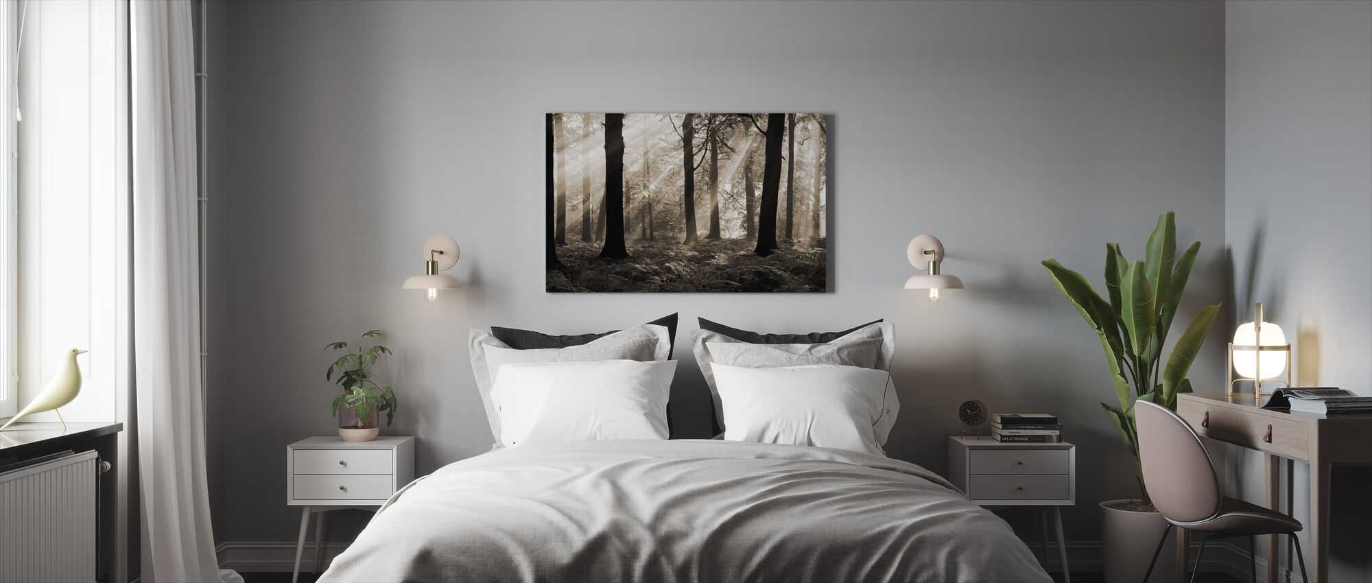 August Morning - Canvas print - Bedroom