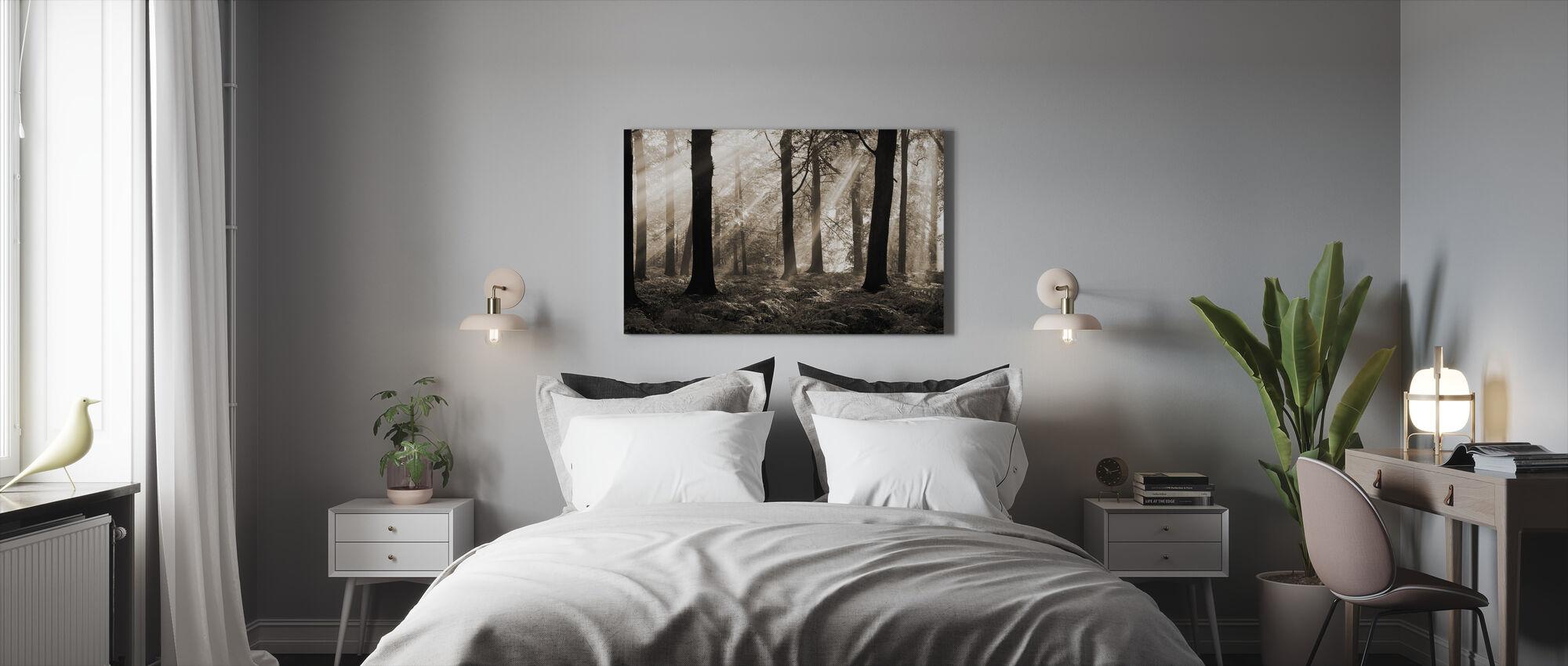 Augustus Ochtend - Canvas print - Slaapkamer