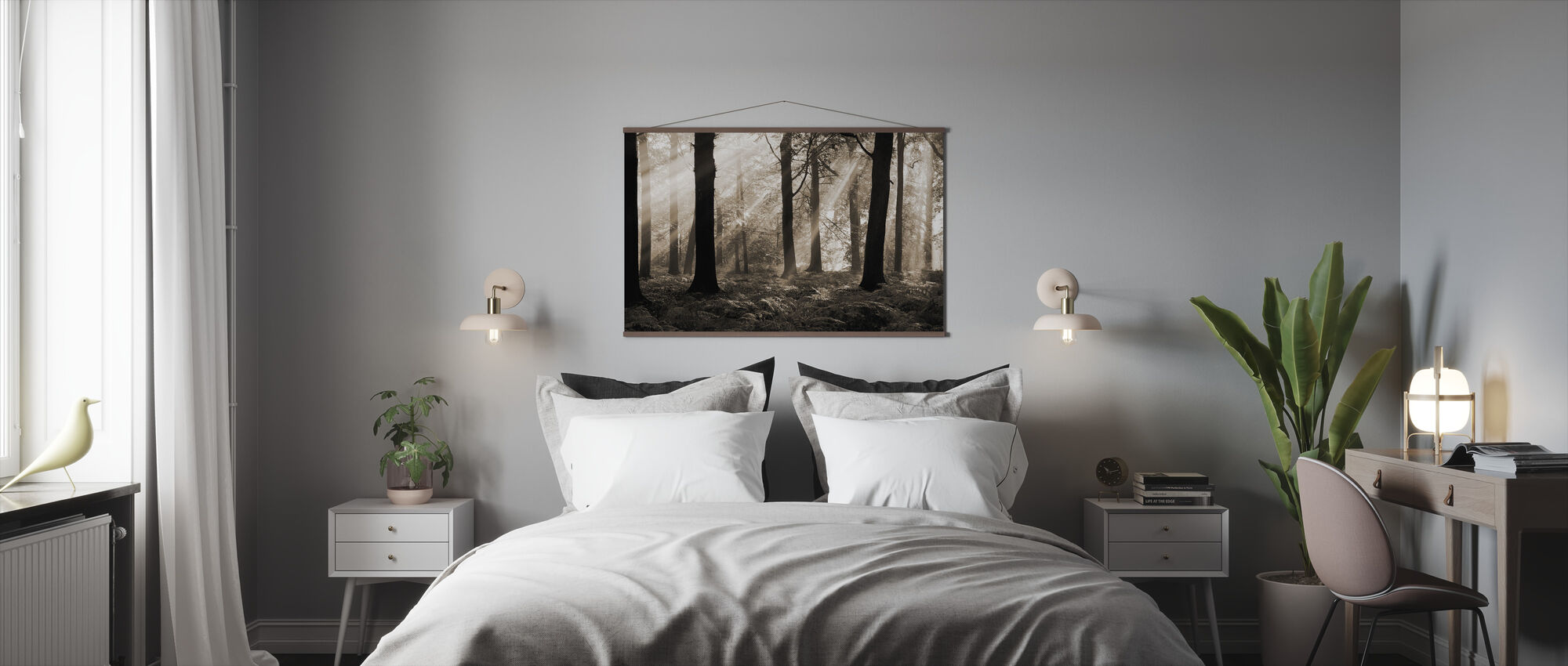 Augustus Ochtend - Poster - Slaapkamer
