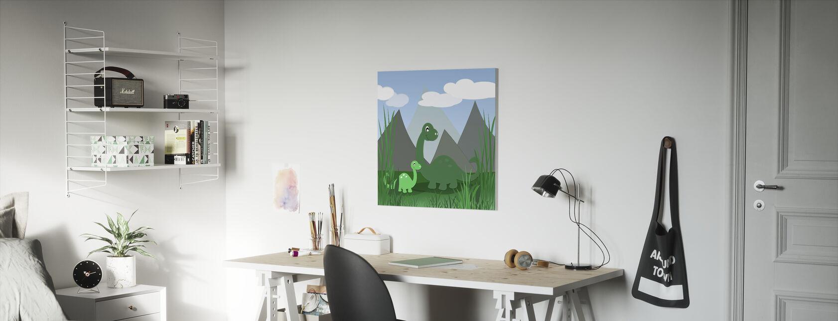Dinoland - Canvas print - Kids Room