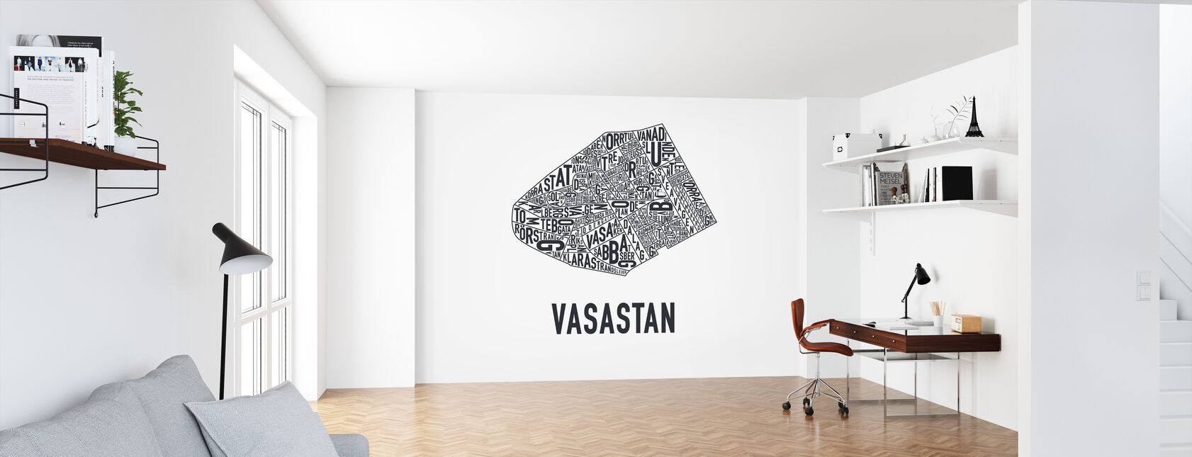 Vasastan - Wallpaper - Office