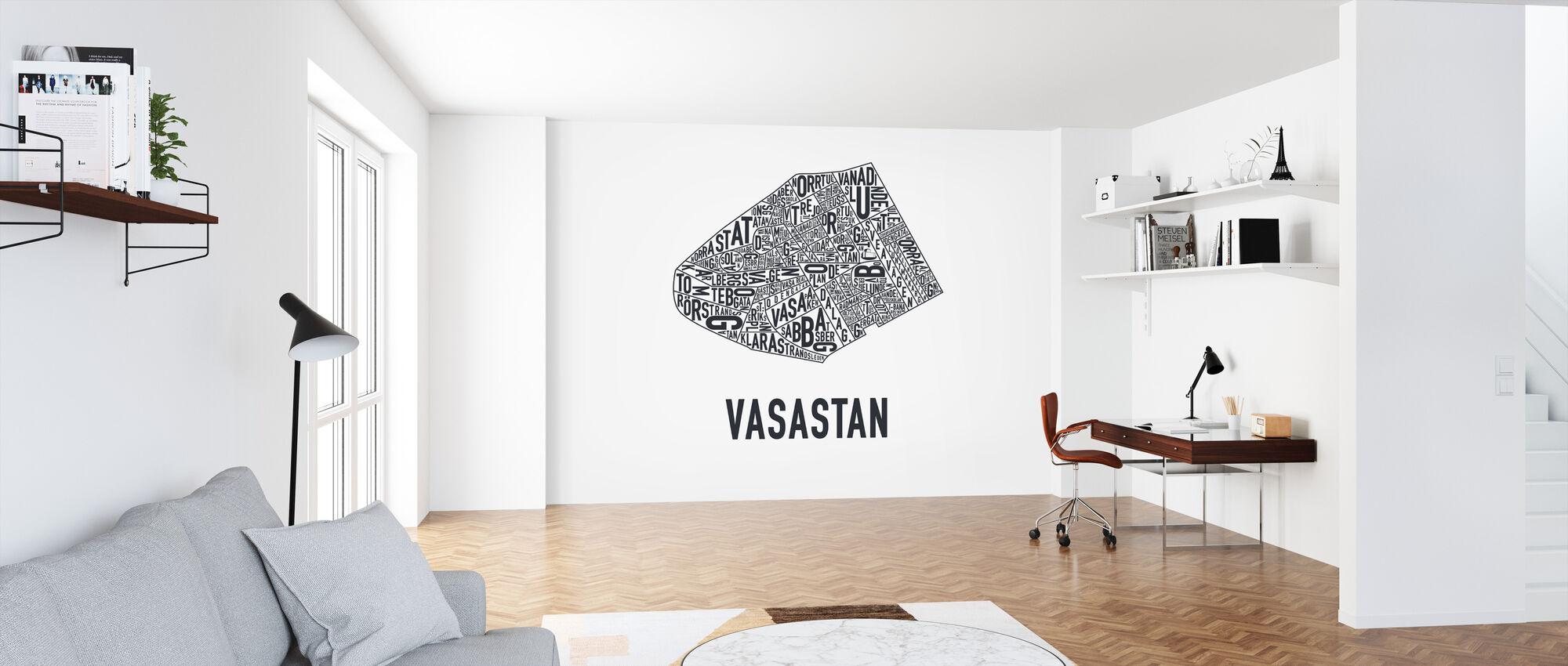 Vasastan - Tapet - Kontor