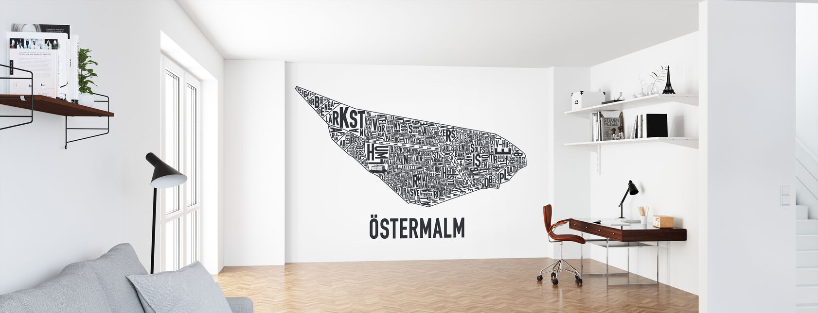 Ostermalm - Wallpaper - Office