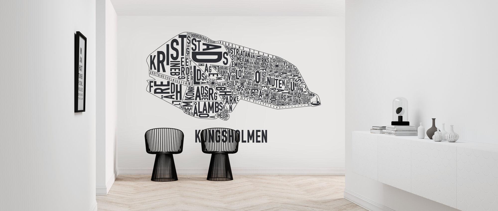 Kungsholmen - Tapet - Gang