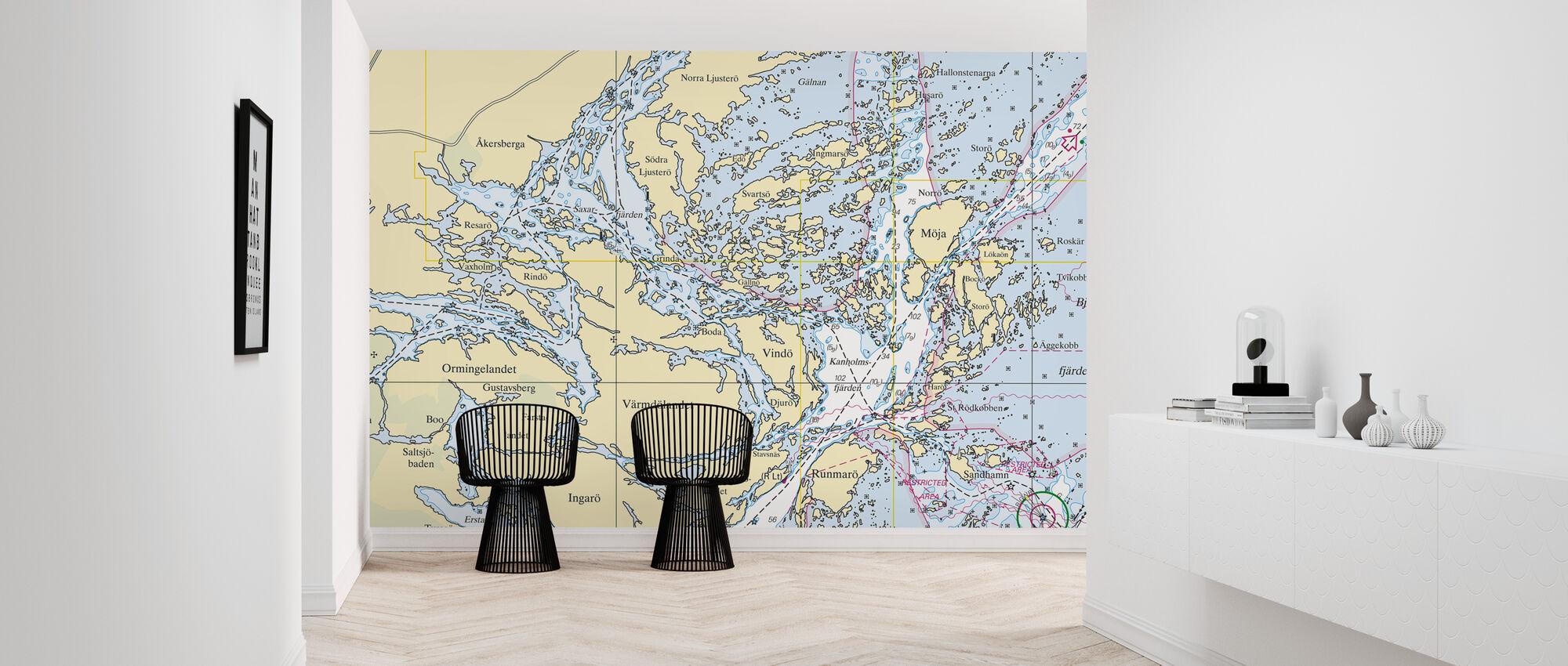 Middle Archipelago - Wallpaper - Hallway