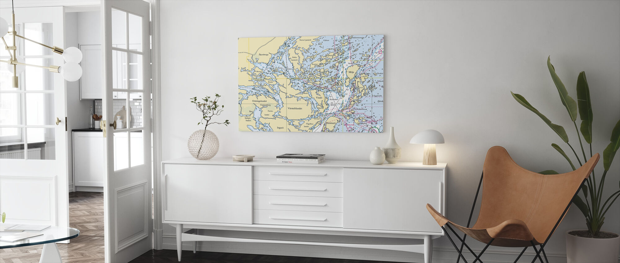 Middle Archipelago - Canvas print - Living Room