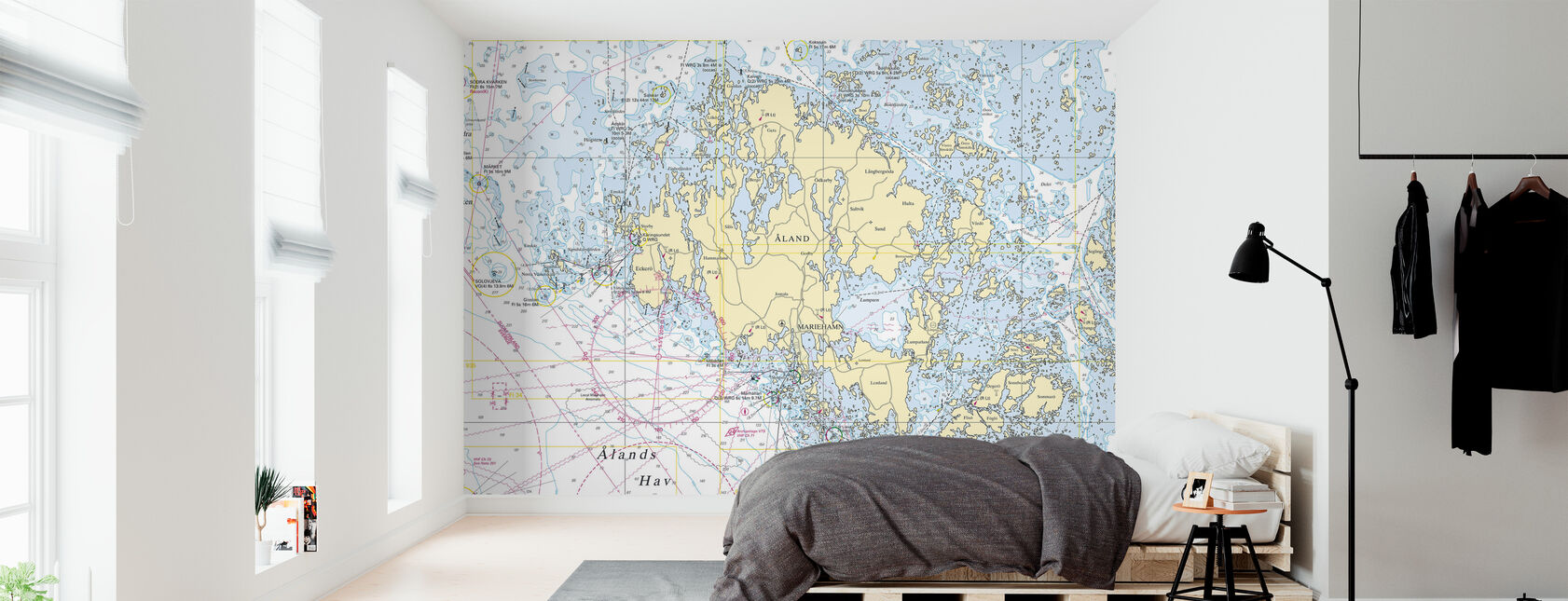 Aland Archipelago - Wallpaper - Bedroom