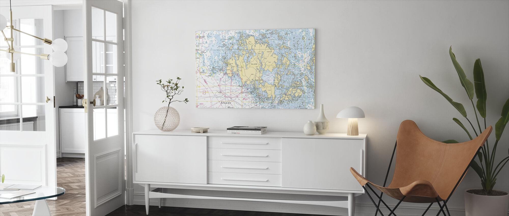 Aland Archipelago - Canvas print - Living Room