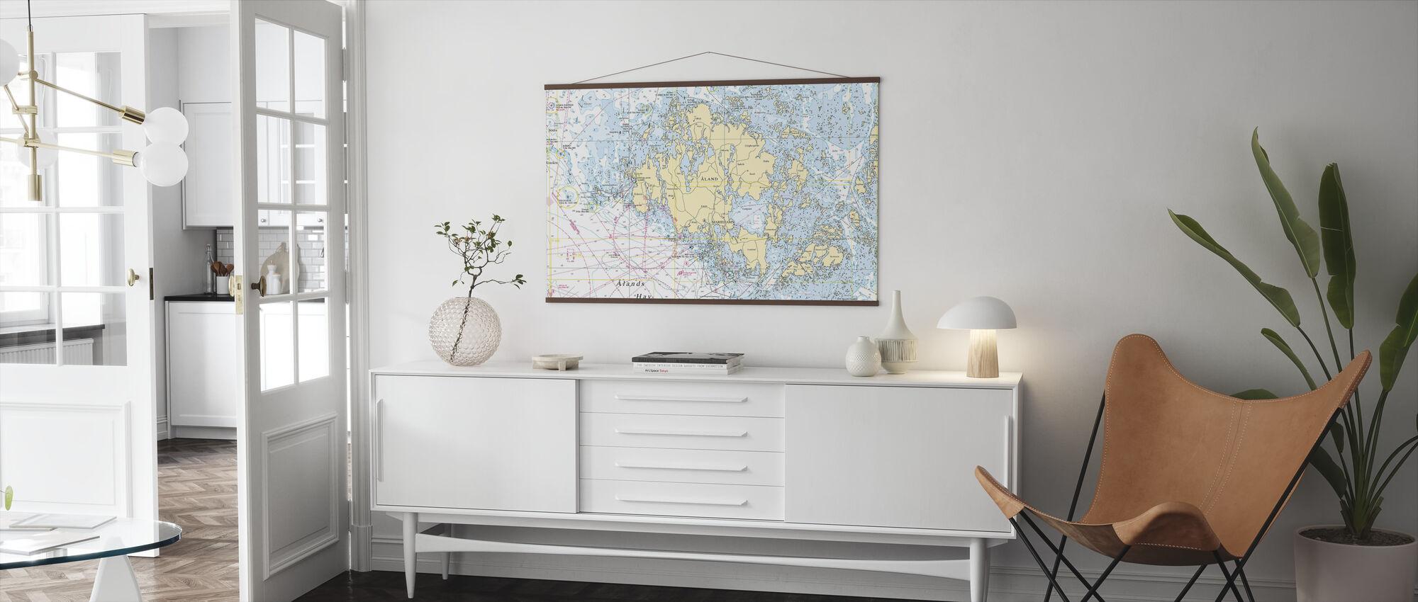 Aland Archipelago - Poster - Living Room