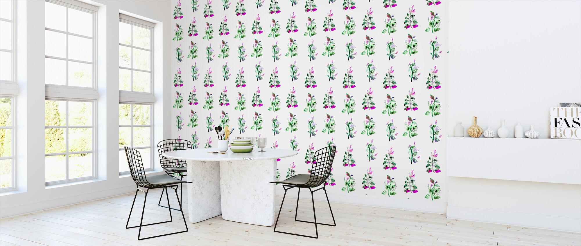Flower - Wallpaper - Kitchen