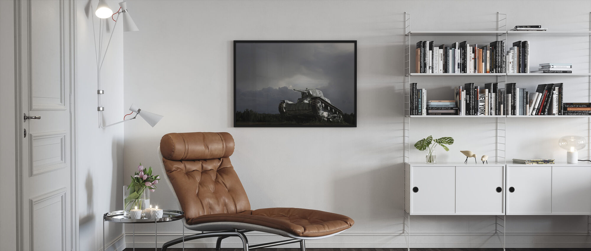 Old Tank - Framed print - Living Room