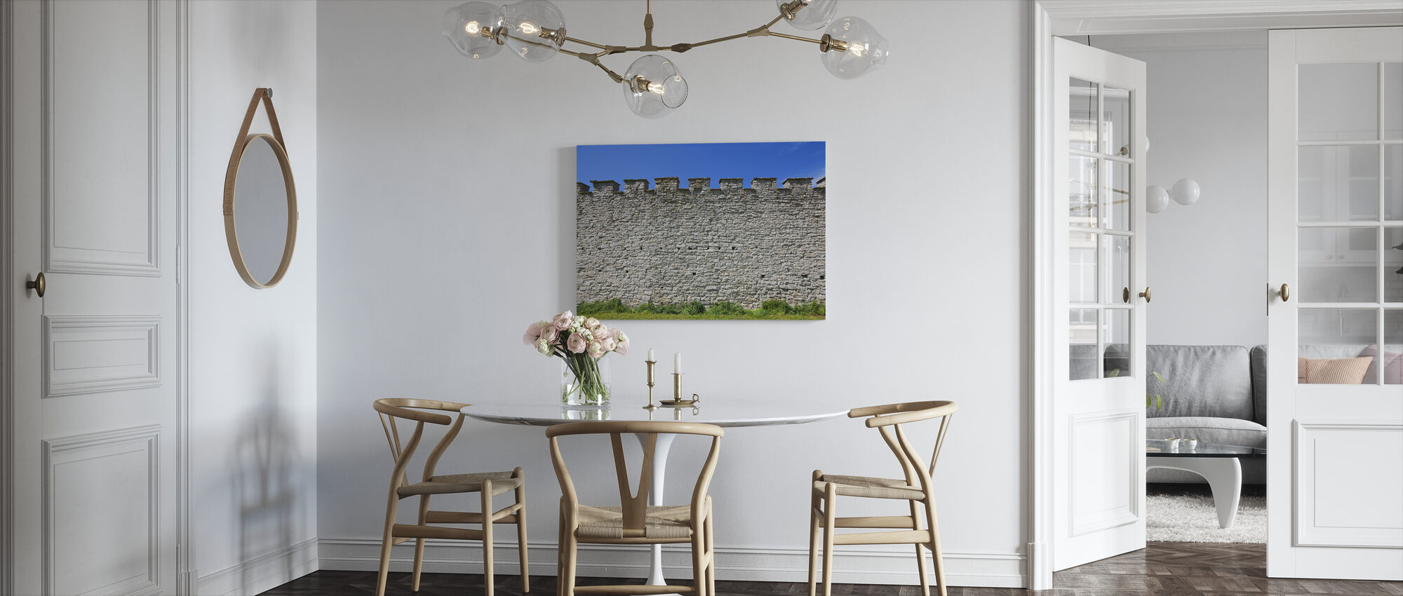 Old Fortress Wall - Canvas print - Kitchen
