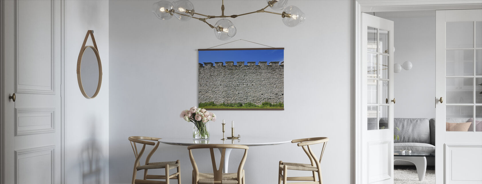 Oude Fort Muur - Poster - Keuken