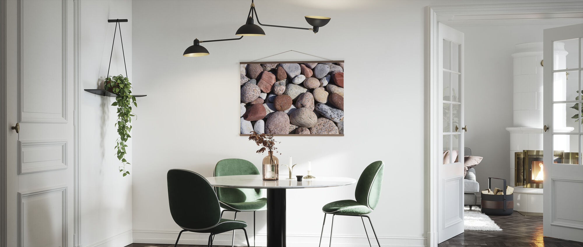 Colorful Polished Stones - Poster - Kitchen