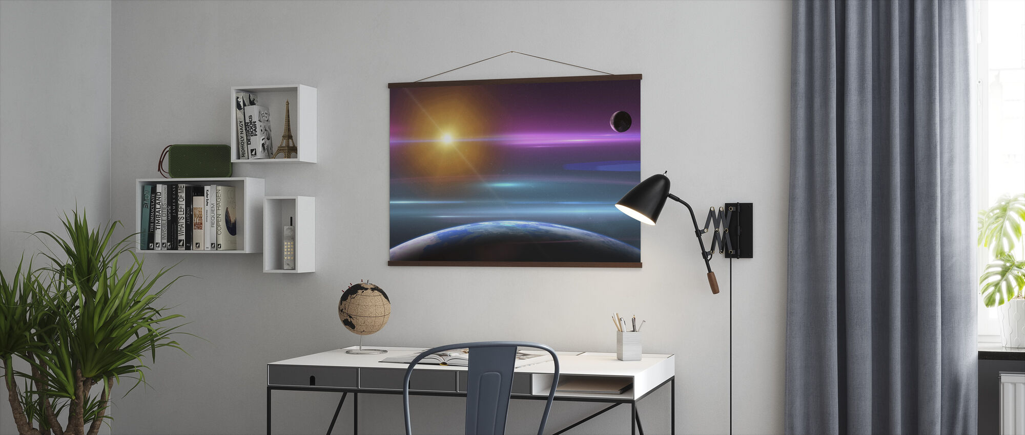 Amazing Space - Poster - Office