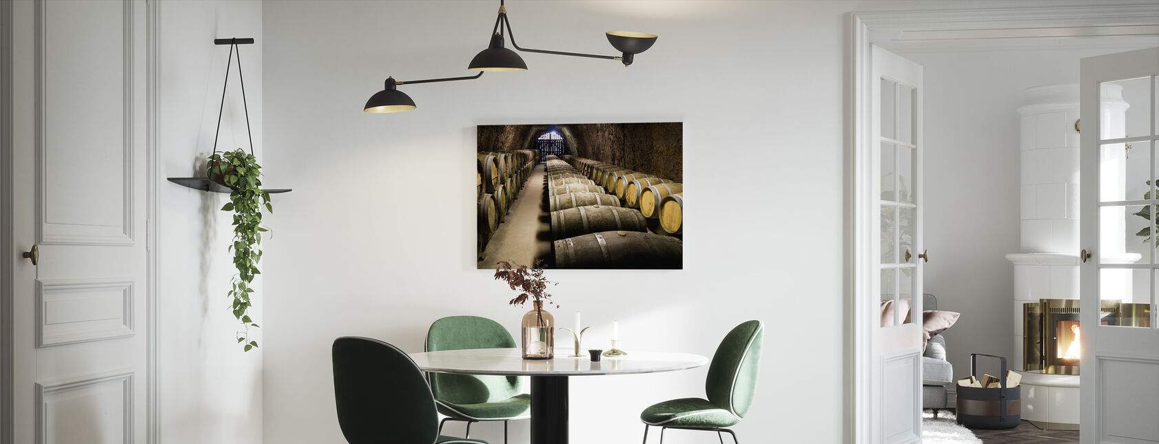 Barrels in Storage - Canvas print - Kitchen