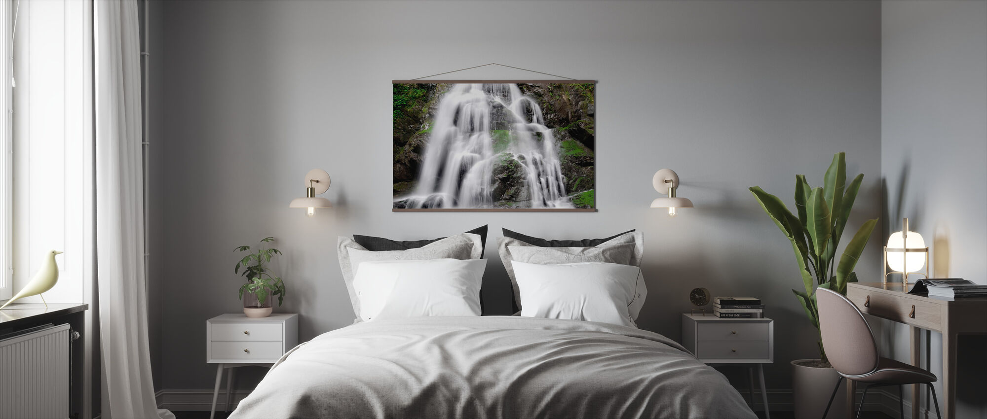 Soft Waterfall - Poster - Bedroom