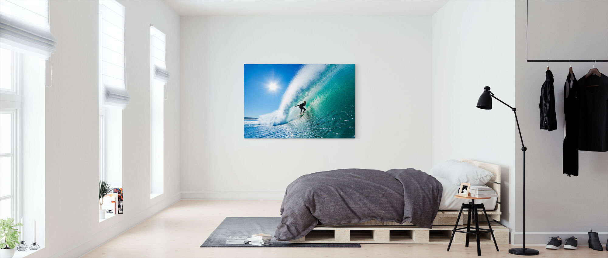 Surfing - Canvas print - Bedroom