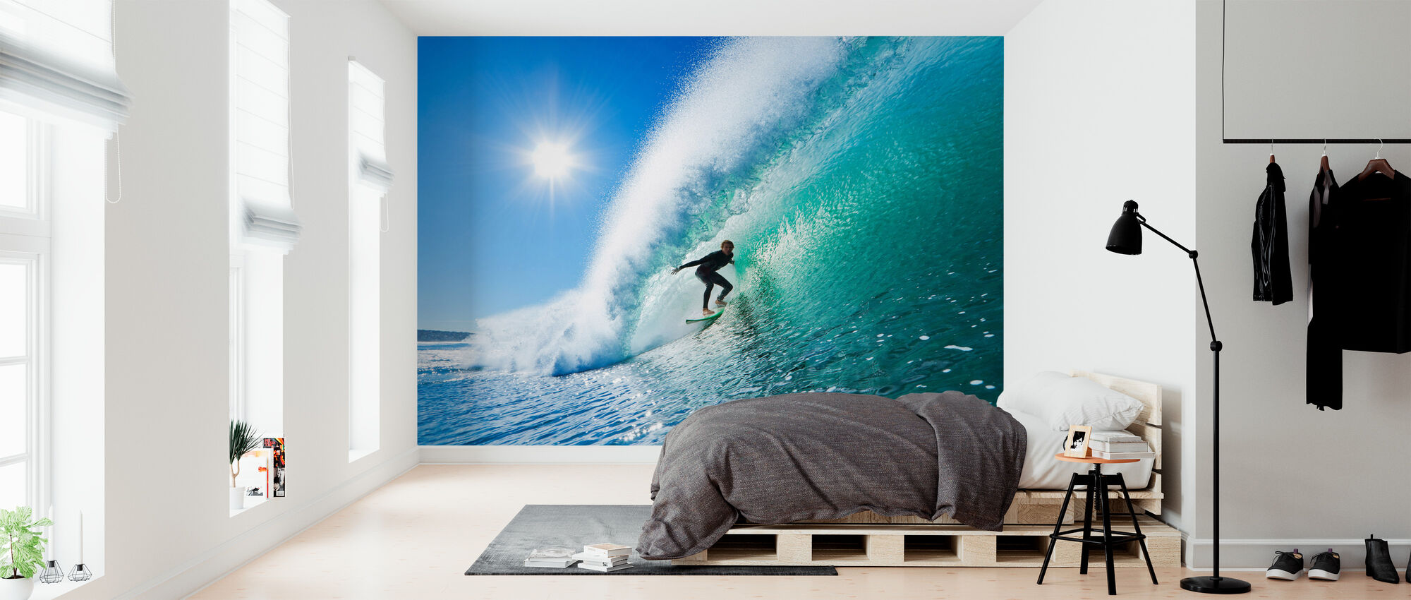 Surfing - Wallpaper - Bedroom