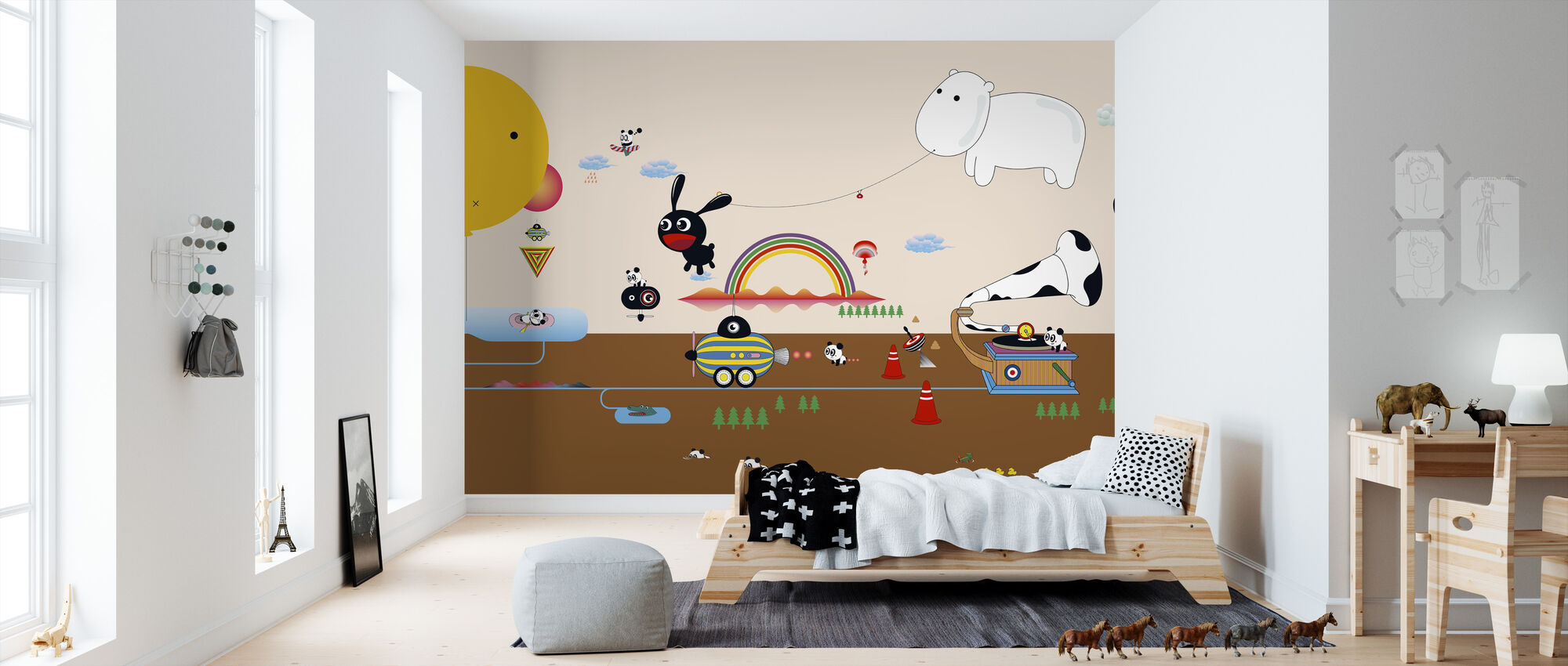 Qianqian Beachlife - Wallpaper - Kids Room