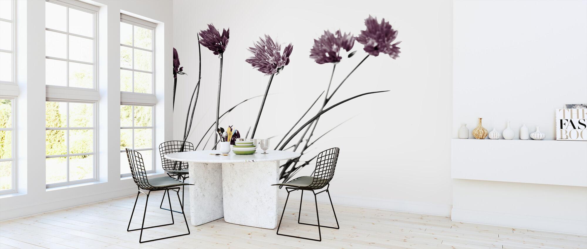 Lovely Flowers - Colorsplash - Wallpaper - Kitchen