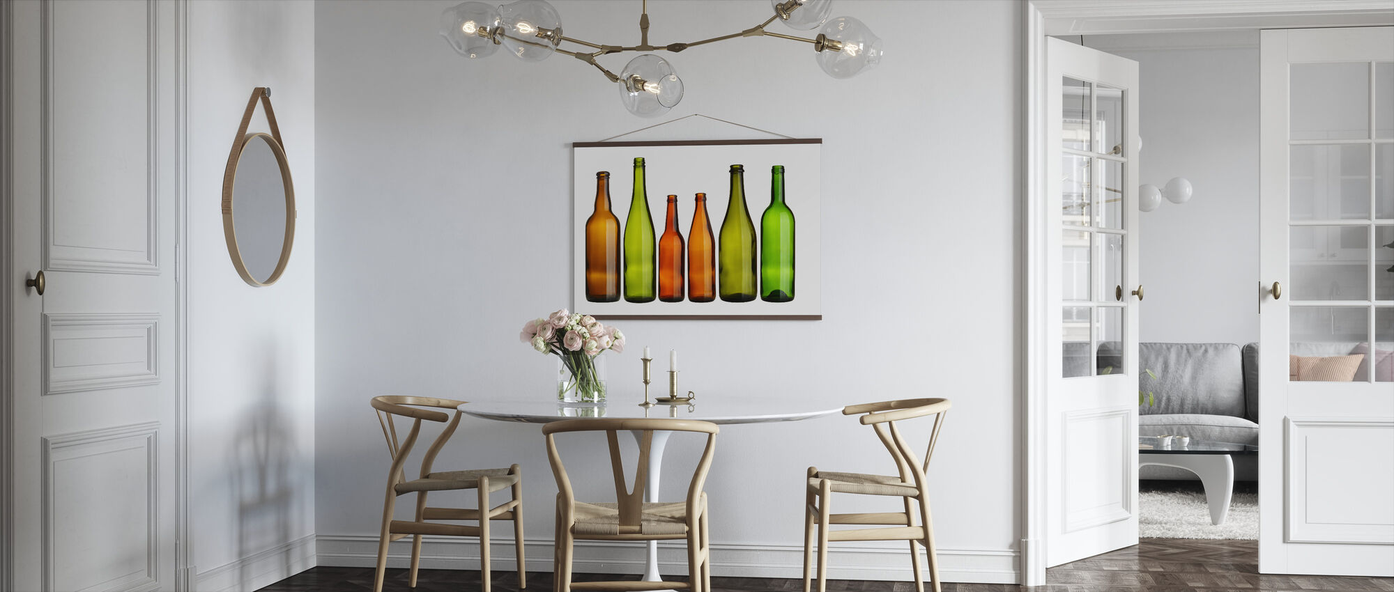 Colorful Bottles - Poster - Kitchen