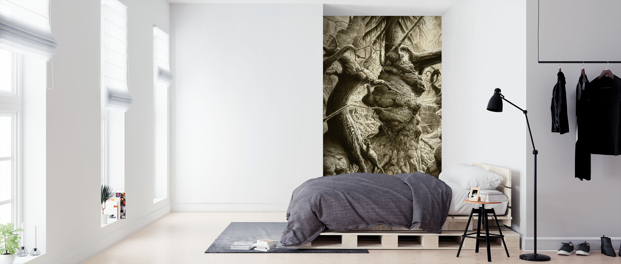 Fantasy Forest - Wallpaper - Bedroom