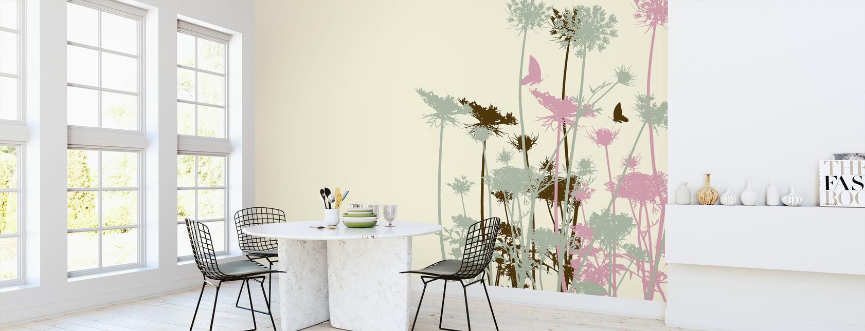 Flower Background - Wallpaper - Kitchen