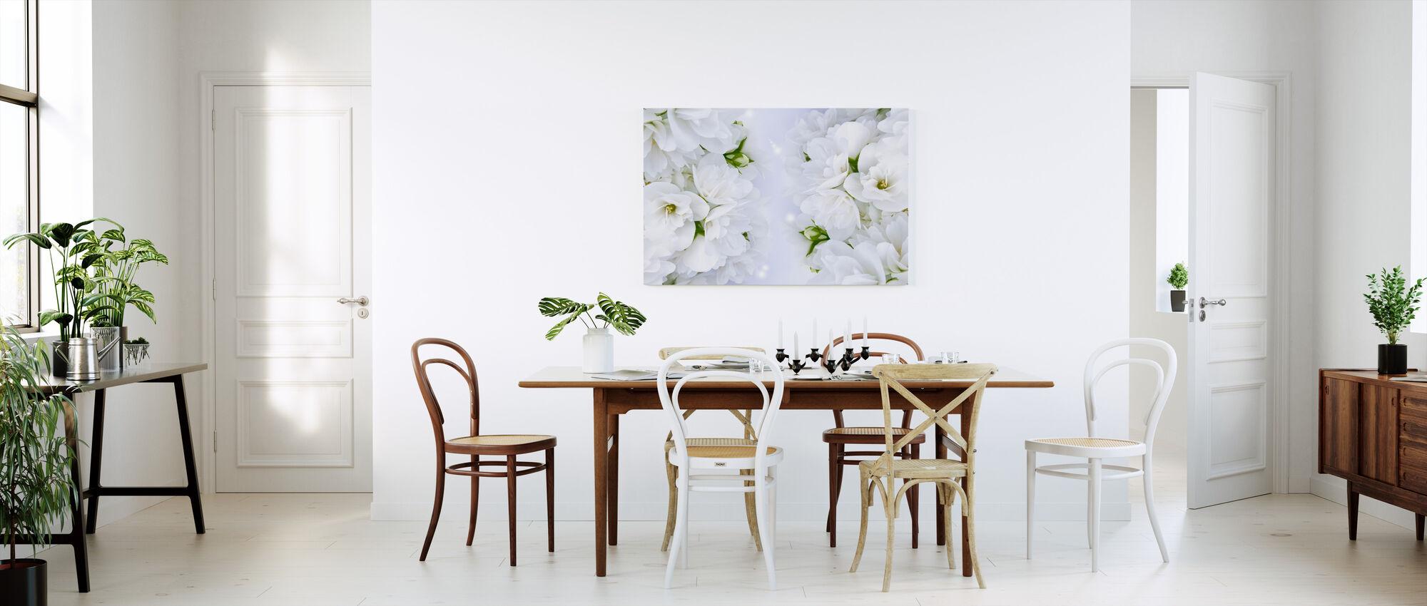 Beautiful Jasmine - Canvas print - Kitchen
