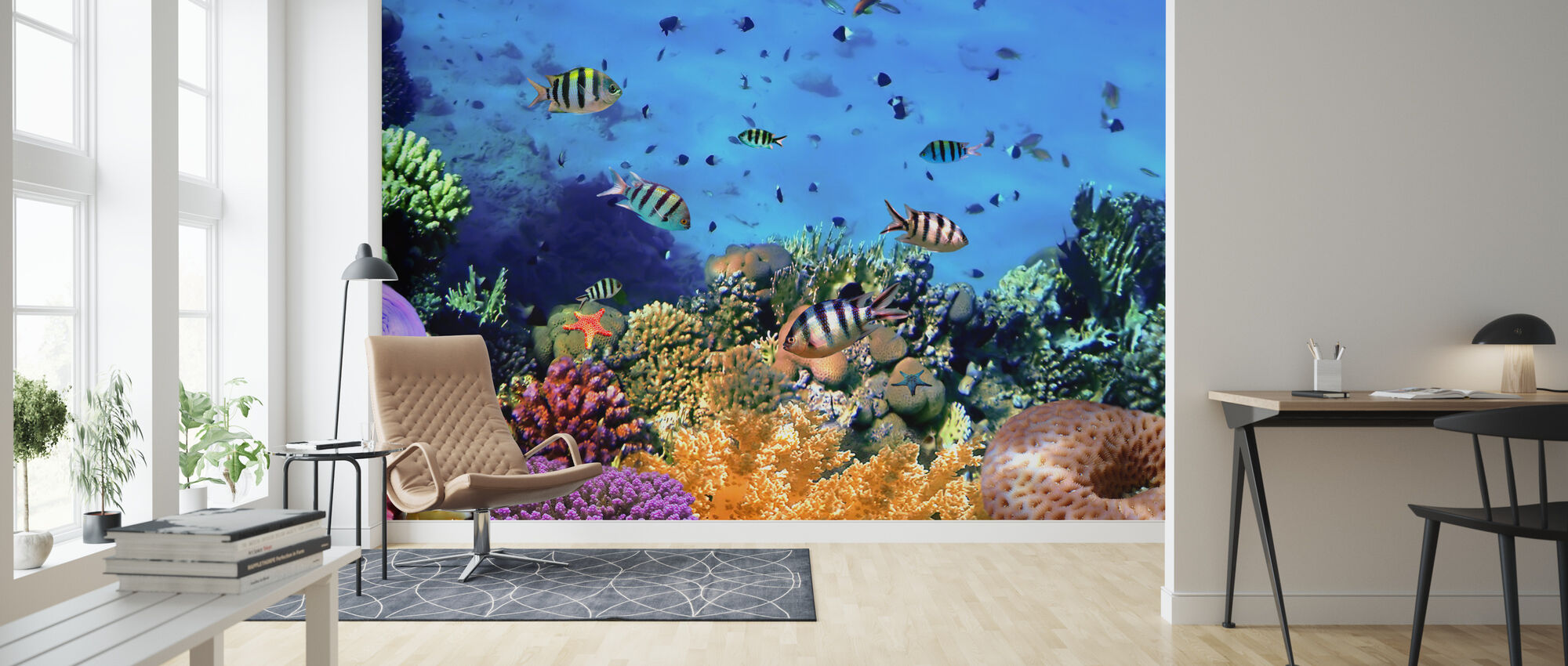 Coral Reef at Koh Cahg Island - Wallpaper - Living Room