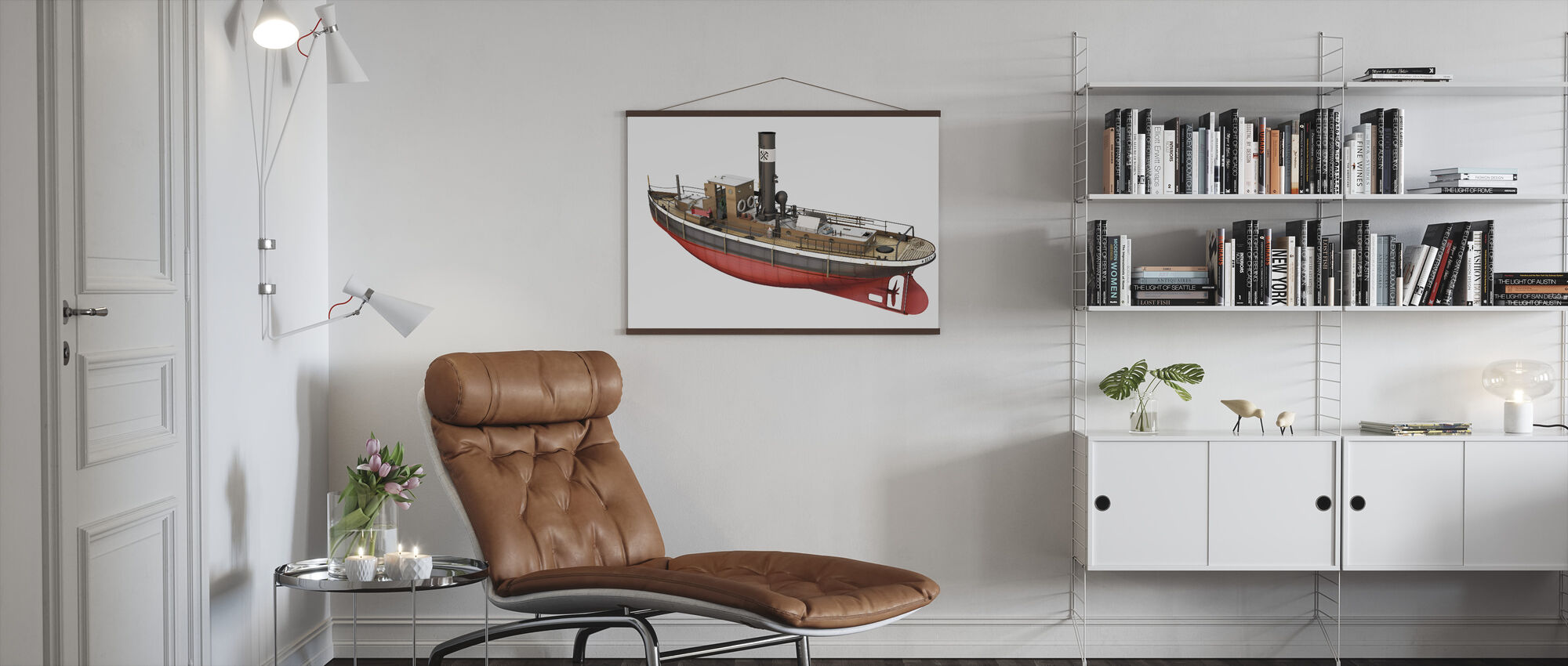 Rex Channel Towers - Poster - Living Room