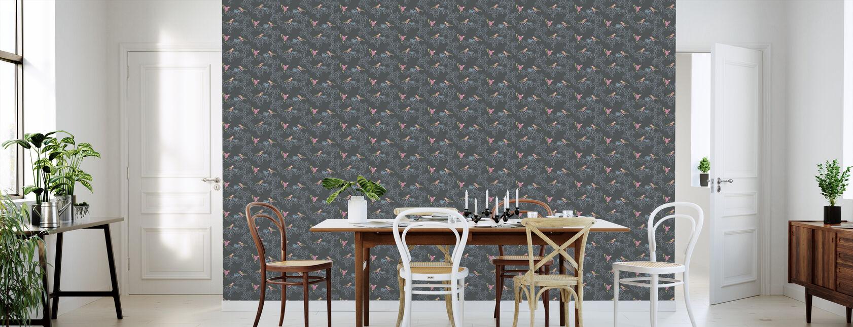Birds Nest - Small - Wallpaper - Kitchen