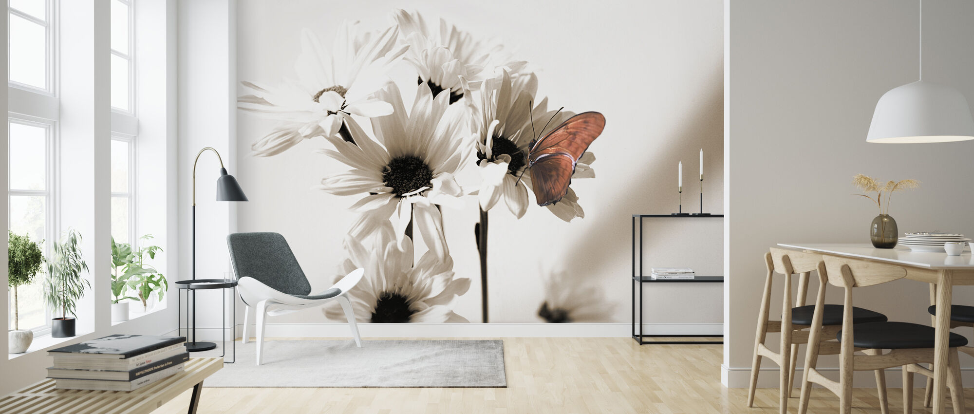 Julia Butterfly Middle - Wallpaper - Living Room