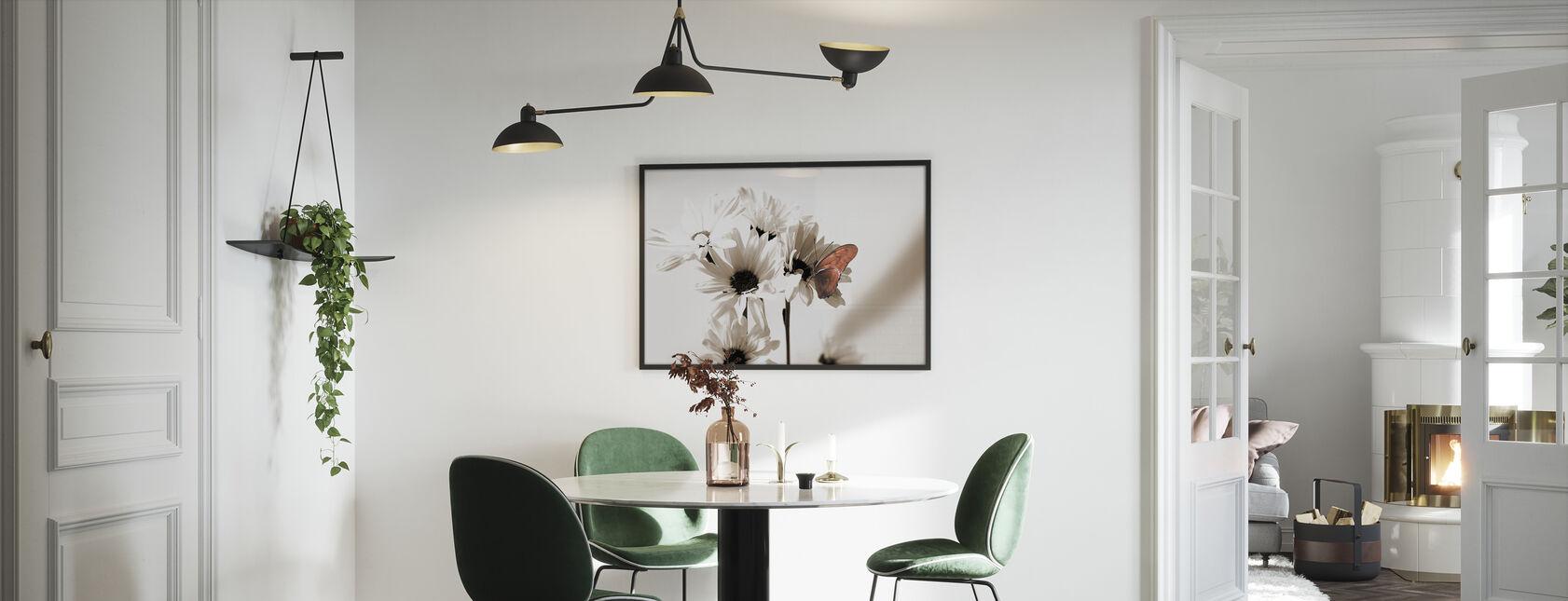 Julia Schmetterling Mitte - Gerahmtes bild - Küchen