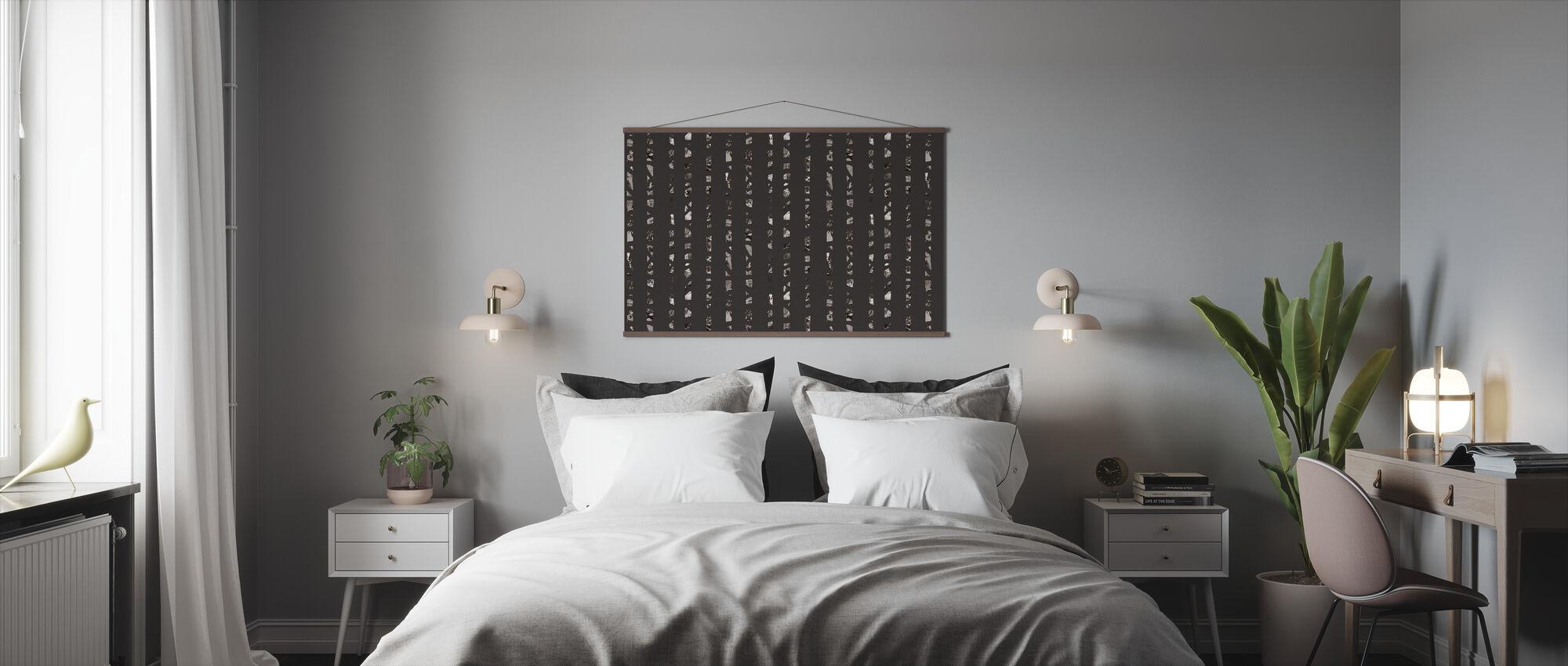 Studio Rita   Julia Heurling - Achter bomen - Donker - Poster - Slaapkamer
