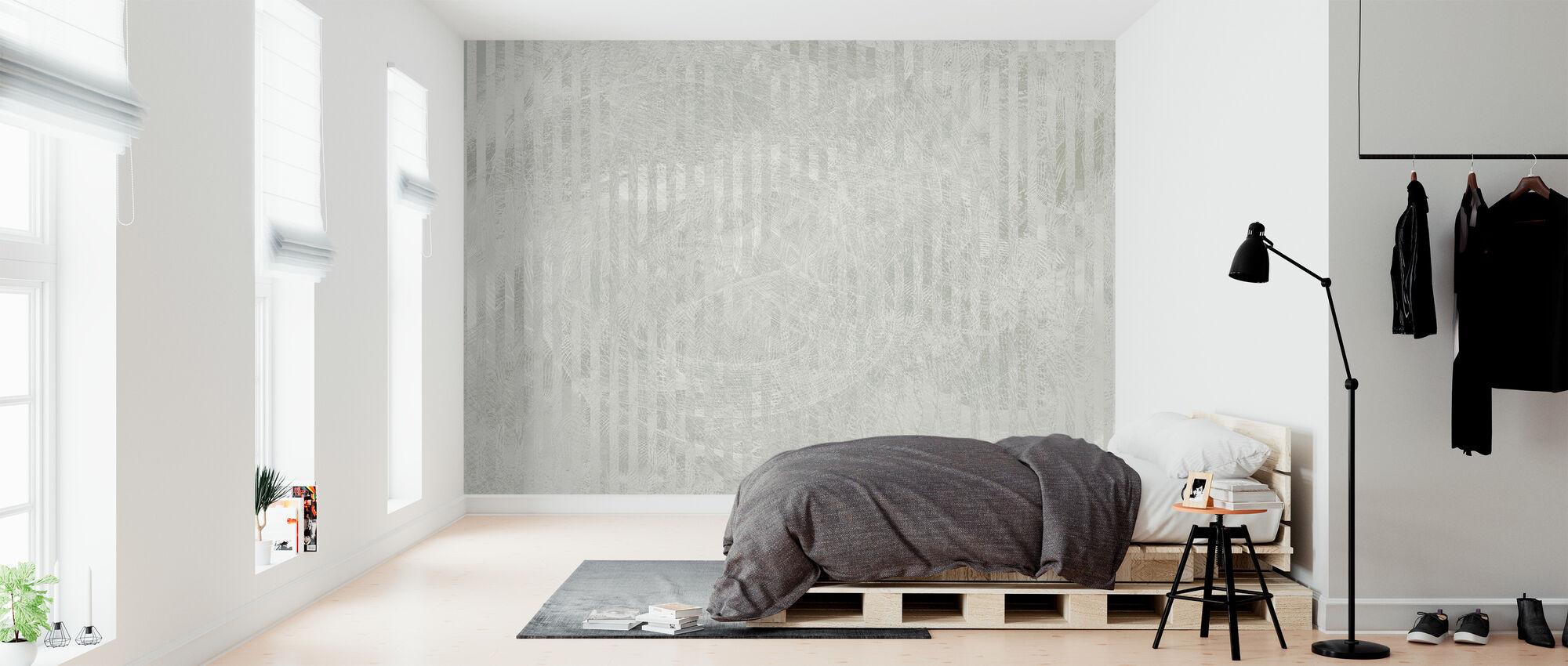 Specular Reflection - Grey - Wallpaper - Bedroom