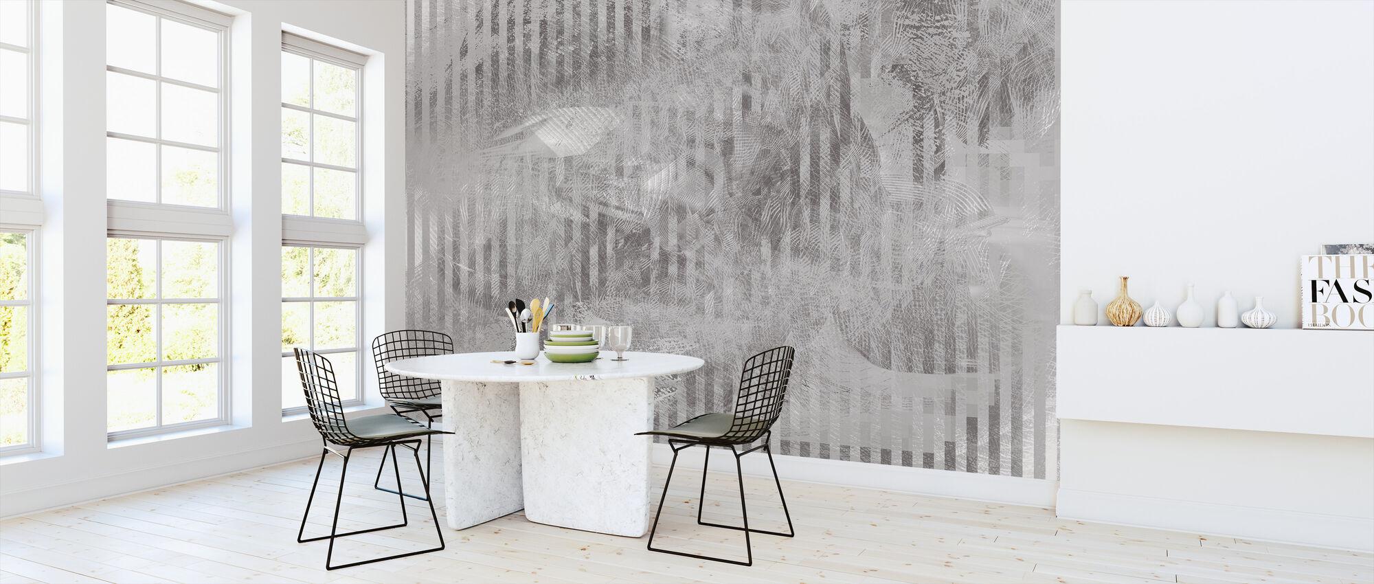 Spekular refleksion - Grafit - Tapet - Køkken