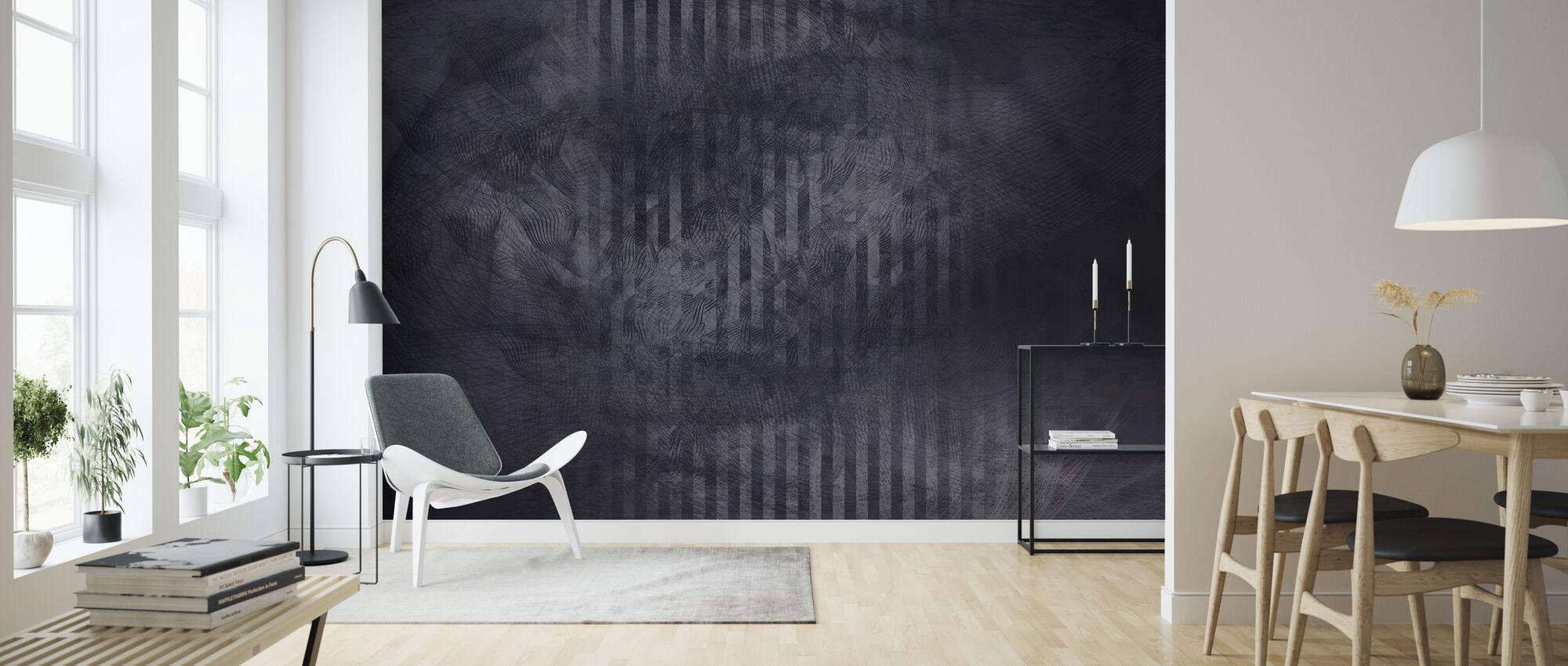 Specular Reflection - Dark - Wallpaper - Living Room