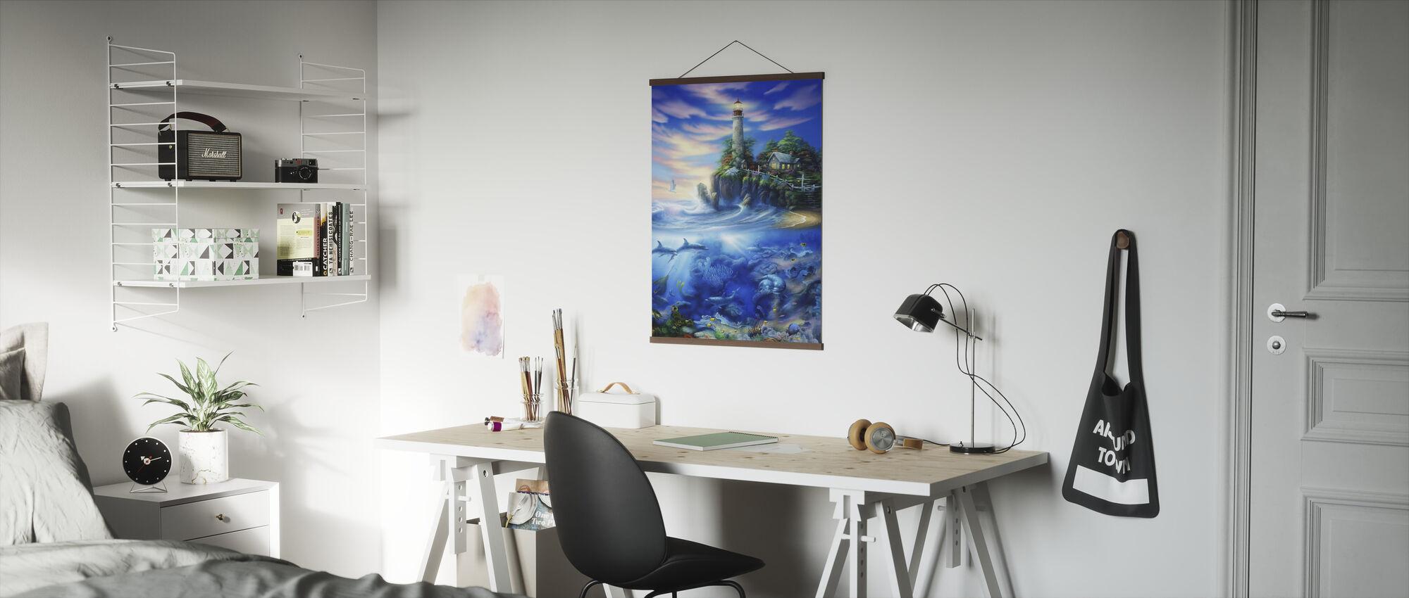 Eeuwige Licht - Poster - Kantoor