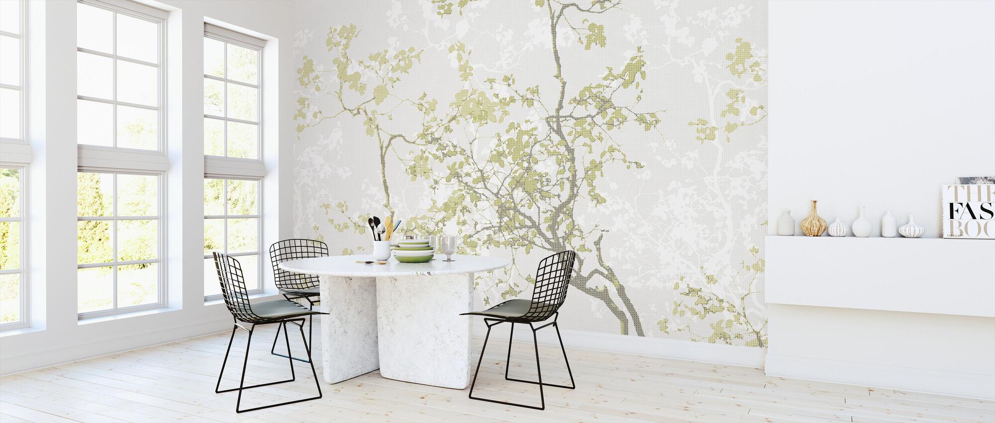 Memory - Olive - Wallpaper - Kitchen