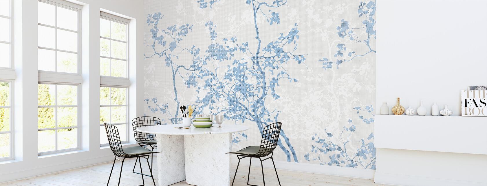Memory - Blue - Wallpaper - Kitchen