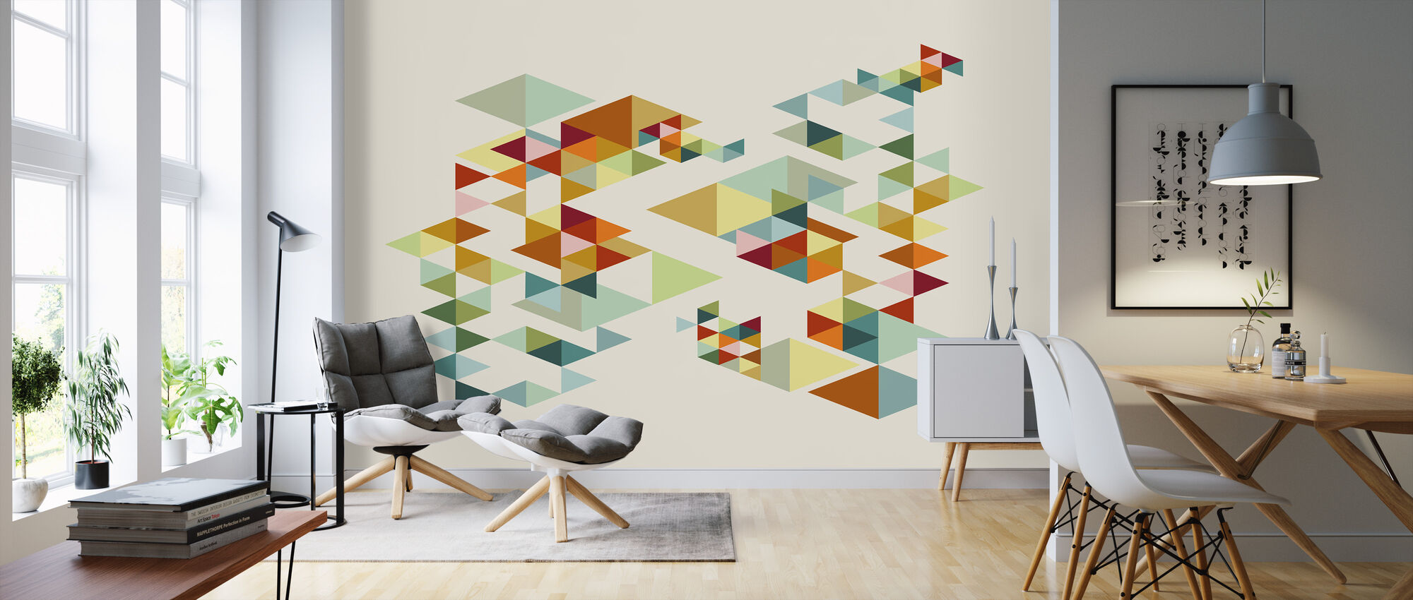 Retrospectra - Wallpaper - Living Room