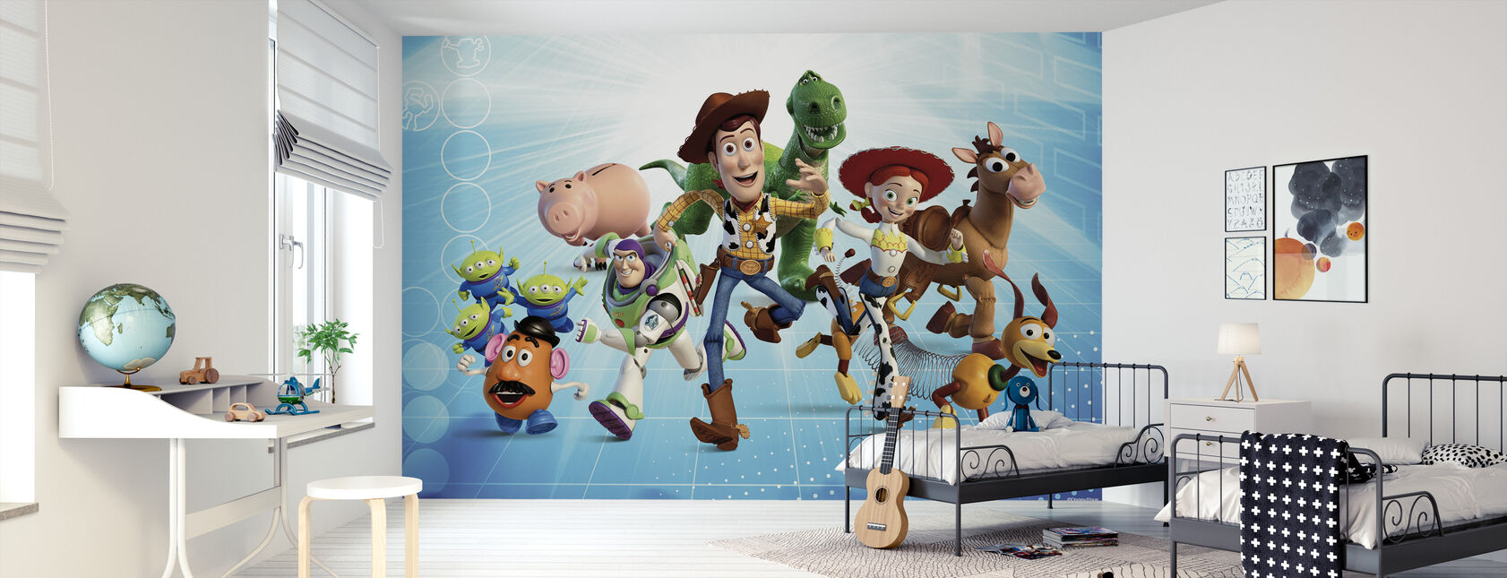 Toy Story - Gjengen - Tapet - Barnerom