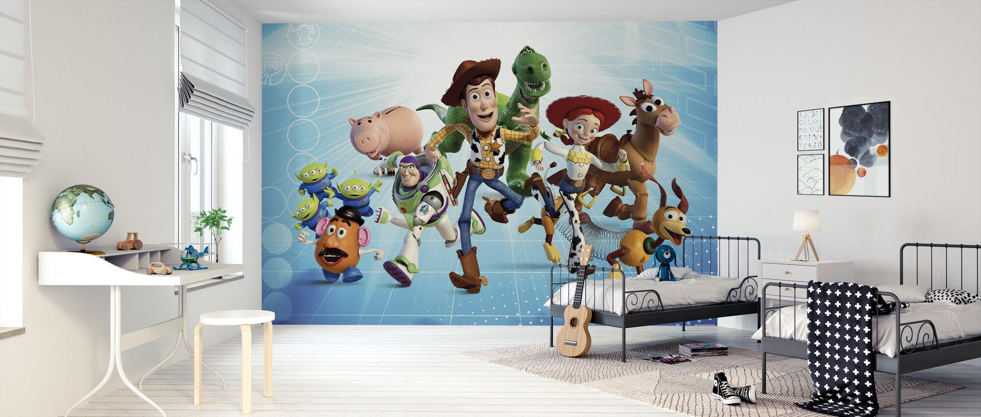 Toy Story - Gjengen - Tapet - Barnerom