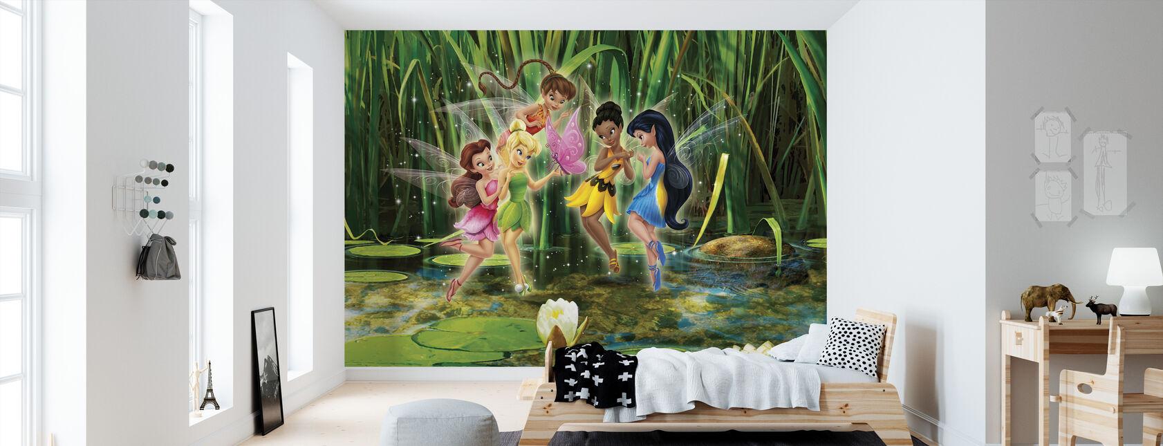 Fairies - Spirited og Spunky - Tapet - Barnerom