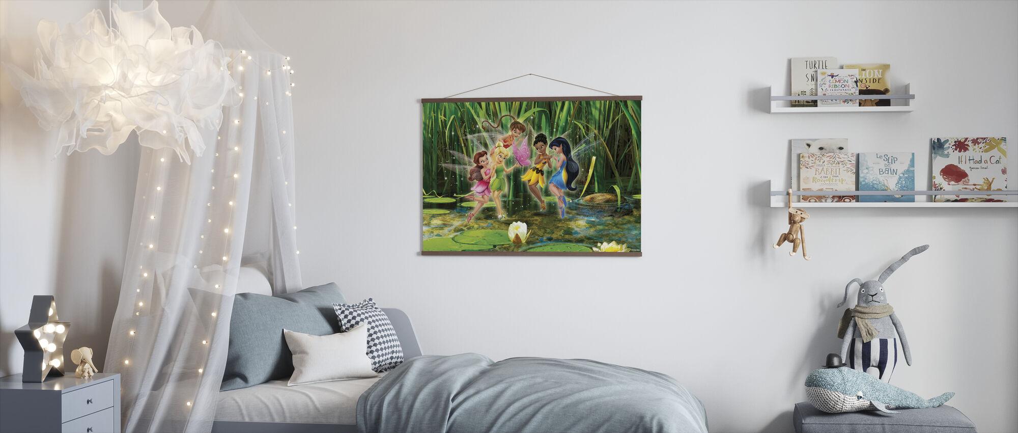 Fairies - Spirited og Spunky - Plakat - Barnerom