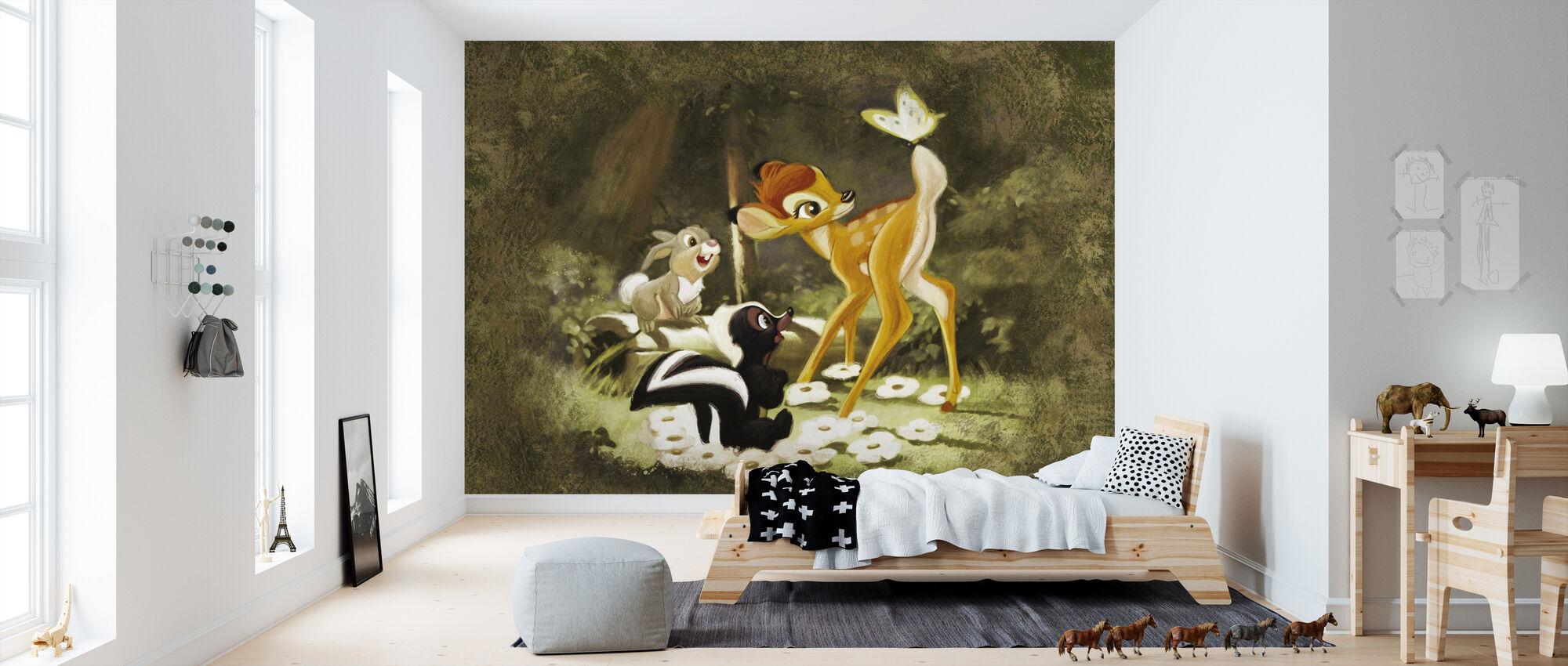 Disney-klassiker - Bambin - Tapet - Barnrum