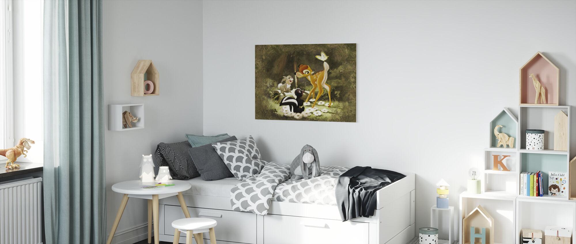 Disney Classics - Bambi - Canvastaulu - Lastenhuone