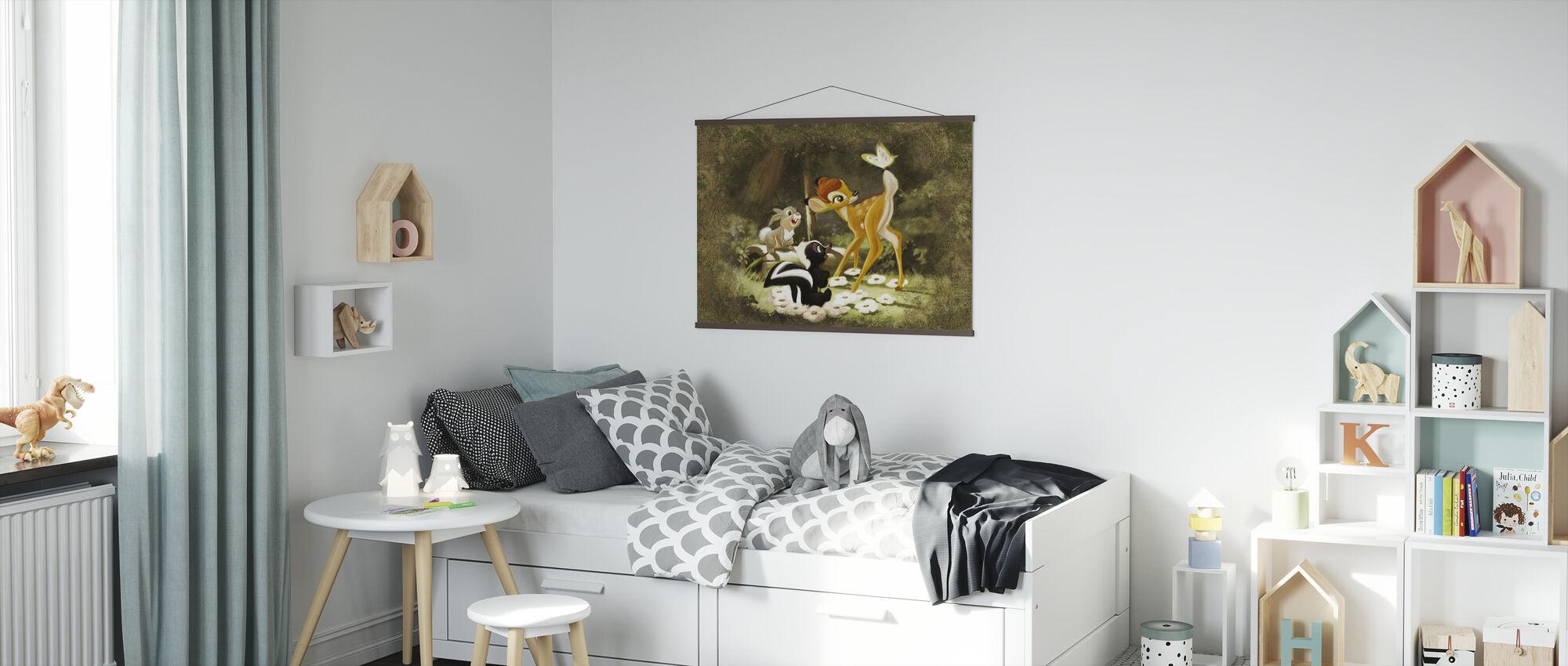Disney-klassikere - Bambi - Plakat - Barnerom